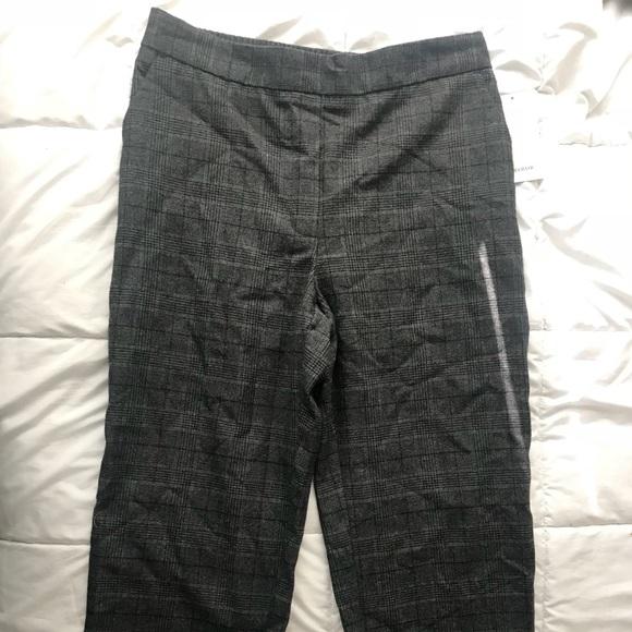 Zara Pants - Zara Plaid Pant - Grey